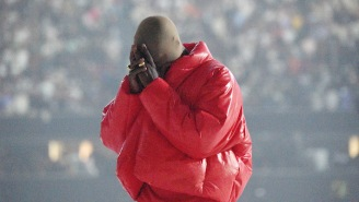 Kanye West Is Reportedly Crashing At Atlanta's Mercedes-Benz Stadium So He Can Finish 'Donda'