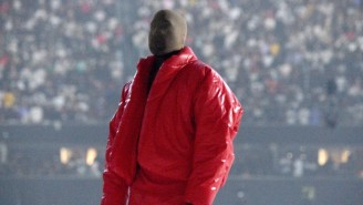 Kanye West Took A Break From Working On 'Donda' To Hang Out With The Atlanta United Crowd