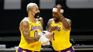 The Lakers Have Reportedly Offered Kyle Kuzma And KCP To 'Almost Every Team' In The NBA
