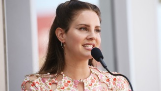 Lana Del Rey Updates Her 'Blue Banisters' Album Artwork And Teases A New Single