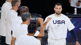 Zach LaVine Didn't Fly To Tokyo With Team USA After Being Put In Health And Safety Protocols