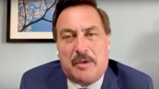 Mike Lindell's Prediction For How Trump Will Become President Again Is So Nonsensical That 'President Pelosi' Started Trending