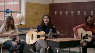 Lucy Dacus Returns To Her Old School For A Classroom Tiny Desk Performance
