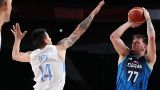 Luka Doncic Went Off For 48 Points In His Olympics Debut As Slovenia Dominated Argentina