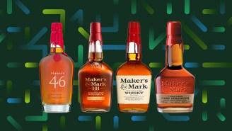 The Core Bottles Of Maker's Mark Bourbon Whisky, Ranked