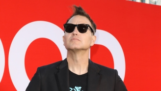 Mark Hoppus Ditches His Signature Hair For A Bald Look After Revealing His Cancer Diagnosis
