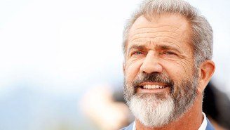 Mel Gibson Saluted Donald Trump At UFC 264 As If He Were A Paratrooper Returning Home From Storming Normandy On D-Day