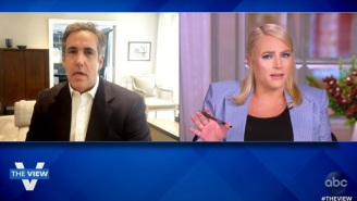 Michael Cohen Claims That 'The View' Co-Hosts Apologized For How Meghan McCain Treated Him On The Show