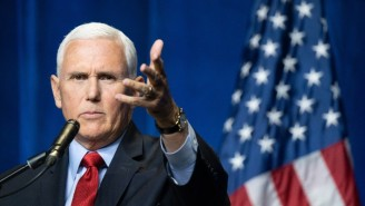 Mike Pence Reportedly Once Lost His Temper With Trump So Bad That He 'Snarled' And Threw A Crumpled Up News Article At Him