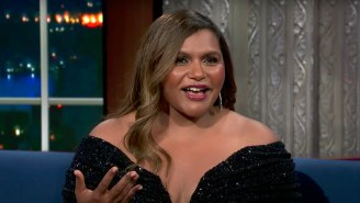 Stephen Colbert Apologized To Mindy Kaling For Walking In On Her When She Didn't 'Have Any Clothes On'