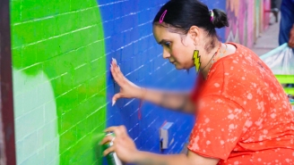 Indie184 Is Beautifying And Empowering Her Community Through The Power Of Street Art