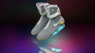 PJ Tucker Broke Out The Ultra-Rare (And Ultra-Expensive) Nike MAG Back To The Future For The NBA Finals