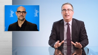 John Oliver Makes A Case For Reparations With An Out-Of-Left Field But Accurate Joke Involving Stanley Tucci
