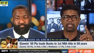 Jalen Rose Reminded Kendrick Perkins Of All His Terrible Bucks Takes After Game 6