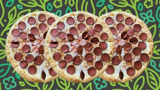 We Tried The New Little Caesars Plant-Based Pepperoni Pizza, Here Are Our Thoughts