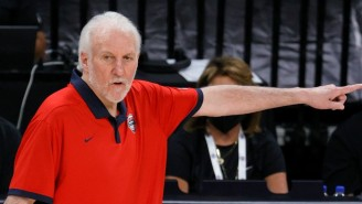 Gregg Popovich Got Into It With A Reporter After USA Basketball's Loss To Australia