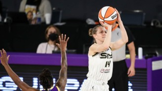 Allie Quigley Beat Jonquel Jones In A Thrilling WNBA Three-Point Contest