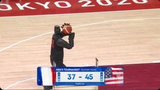 The Olympics Basketball Shooting Robot Had Everyone Making Ben Simmons Jokes