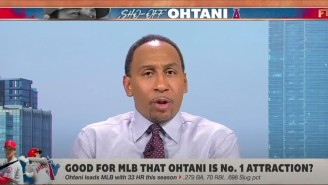 Stephen A. Smith Is Getting Rightfully Ripped For Saying Shohei Ohtani Can't Be The Face Of Baseball Because He Needs An Interpreter
