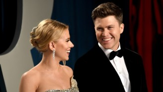 Scarlett Johansson Admits That Watching Colin Jost On 'SNL' Causes 'Underwhelming Panic' For Her