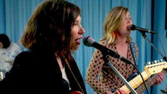Sleater-Kinney Rock Through 'Path Of Wellness' Highlights For Their Tiny Desk Concert