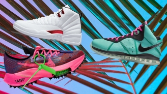 SNX: Featuring Off-White's Latest Nikes, The Return Of The LeBron 8 South Beach, And A Metallic Red AJ12