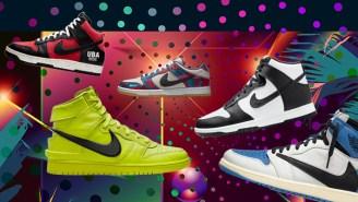 SNX DLX: Featuring A Nike X Ambush High Top Dunk And The Latest Travis Scott Jordan Colorway