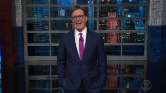 Stephen Colbert Is Amused That Trump's Jan. 6th Insurrectionists Are 'Pleading Not Guilty By Reason Of Stupidity'