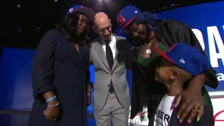 The NBA Honored Terrence Clarke At The 2021 NBA Draft