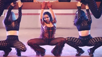 Tinashe Dances On A Trampoline In Her Exuberant 'Bouncin' Video