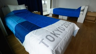 No, The Tokyo Olympics Did Not Give Horny Athletes 'Anti-Sex' Cardboard Beds