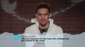 Trae Young, LaVar Ball, And More Came Together For Jimmy Kimmel's Latest Round Of NBA Mean Tweets