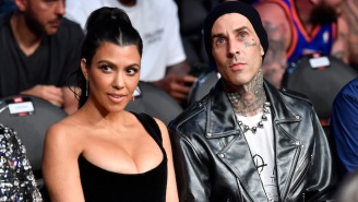 Kourtney Kardashian Gets Spooky And Tells Travis Barker That She Wants To 'Suck Your Blood'