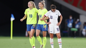 The USWNT Got Hammered By Sweden, 3-0, In Its Olympic Opener For Its First Loss In 44 Matches