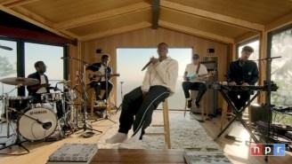 Vince Staples Coasts Through A Laid-Back Tiny Desk Concert With Kenny Beats And Foushée