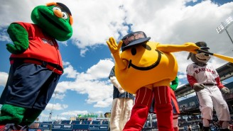 A Minor League Ballpark Proposal Apparently Ended In Horrifying Disaster Next To A Very Smiley Mascot