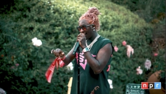 Young Thug Debuts Songs From 'Punk' In A Hardcore Tiny Desk Concert With Travis Barker