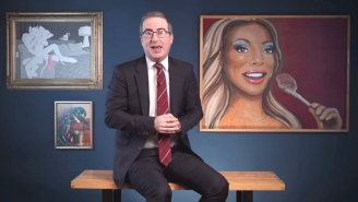 John Oliver Is Taking His Bizarre 'Last Week Tonight' Art Collection On The Road For A Series Of Gallery Shows
