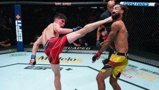 Ignacio Bahamomdes Provided A Knockout Of The Year Candidate At UFC Vegas 34