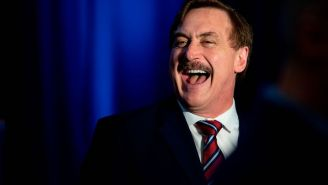 Mike Lindell's Shi*tstorm Of A 'Cyber Symposium' Could Actually Land A MAGA Insurrectionist Back In Jail