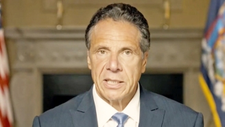 People Are Aghast That Andrew Cuomo Put Together A Montage Of Him Touching And Kissing People In An Effort To Defend Himself