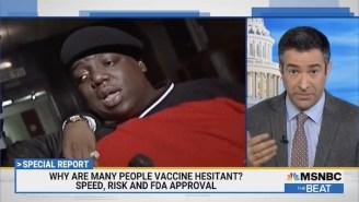 MSNBC Host Ari Melber Quotes Biggie To Encourage People To Get Vaccinated
