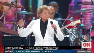 A Concert In Central Park Was Abruptly Ended Right In The Middle Of A Barry Manilow Song Due To Severe Weather