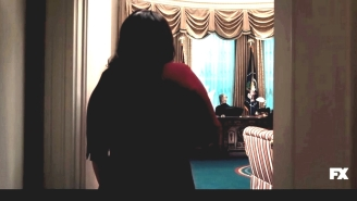 Monica Lewinsky Delivers A Gift To Bill Clinton In The Oval Office In The New Teaser For 'Impeachment: American Crime Story'