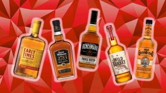 The Best Bottles Of Bourbon Whiskey For Under $20, Ranked