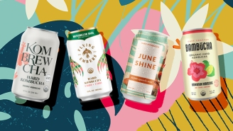 A Blind Taste Test Of Hard Kombucha Brands, For All The Gut-Bacteria Loving Drinkers Out There