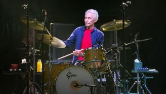 The Rolling Stones Honored Their Late Drummer Charlie Watts In Their First Live Show Since His Death