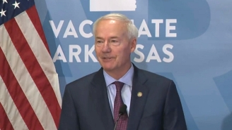 Arkansas Gov. Asa Hutchinson Regrets Signing A Law Banning Mask Mandates Now That His State Is Being Decimated By COVID