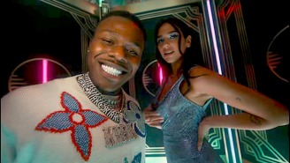 The DaBaby Remix Of Dua Lipa's 'Levitating' Is Still Near The Top Of The Charts Despite Fewer Radio Plays