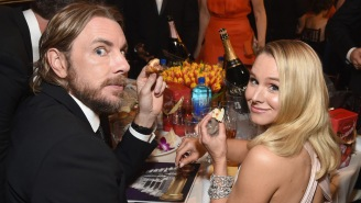 Kristen Bell Says She And Dax Shepard, Like Mila Kunis And Ashton Kutcher, Wait A While Until They Bathe Their Kids